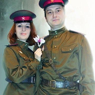 Взрослая военная форма 1943 года
